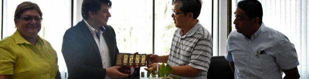 , Embajador de China interesado en cooperación para el desarrollo de Puerto Caldera
