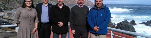 , Presidente Ejecutivo del INCOP en Chile busca transferencia tecnológica para el desarrollo portuario del Pacífico