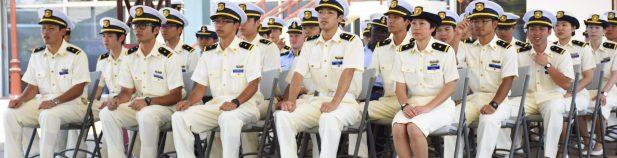 INCOP da bienvenida a Buque de Entrenamiento de Guardacostas de Japón