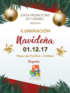 Invitacion Iluminacion navidena