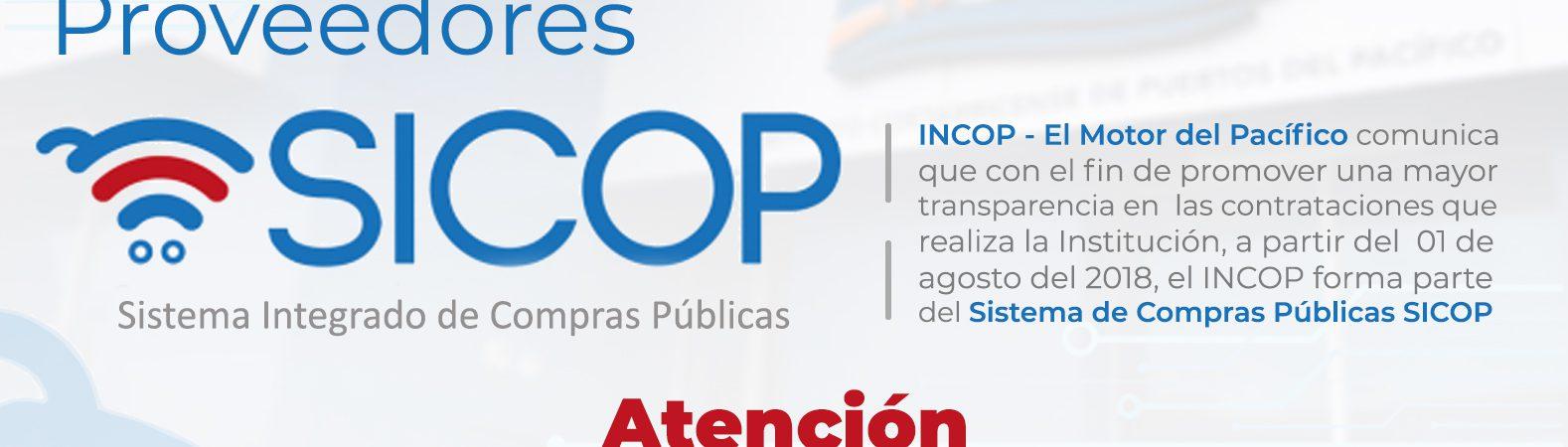 Banner Facebook SICOP