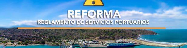 , CONSULTA PÚBLICA: Reforma al Reglamento General de Servicios Portuarios